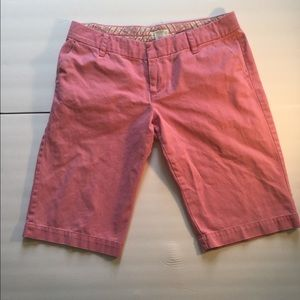 American Eagle Outfitters Pink Bermuda Shorts